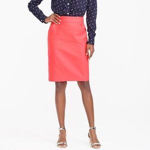 J. Crew Factory Pencil Skirt Double-Serge Cotton